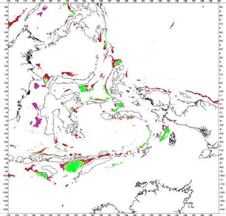 Bouguer gravity anomaly classification of the Savu Basin